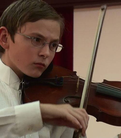 Fedor Levine violin-student